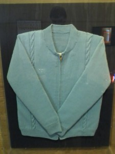 Sweater on display at Pittsburgh Children's Museum